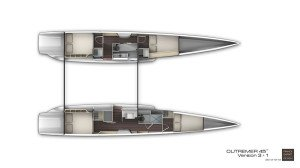 Outremer 45 Layout