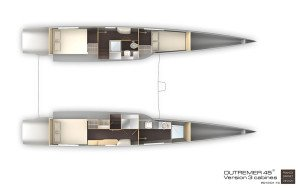 Outremer 45 Layout 2