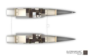 Outremer 45 Layout 3