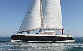 Outremer-5X von Backbord