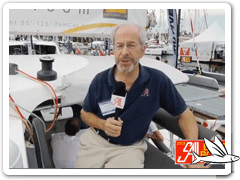 Video Trimaran Neel 45 Evolution von innen