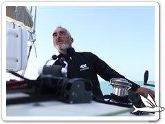 Video Loïck Peyron segelt Outremer 4X