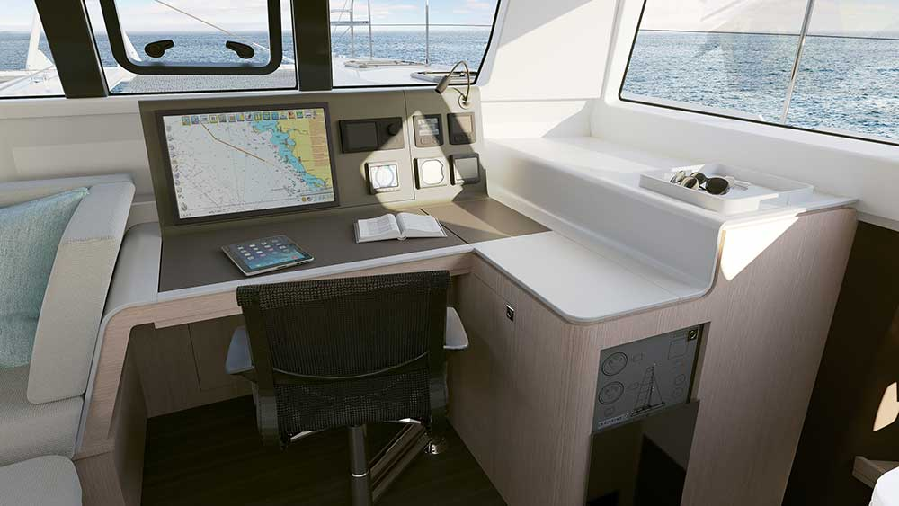 Outremer 51 Navigation