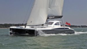 Broadblue Rapier 400 segelt auf dem Solent