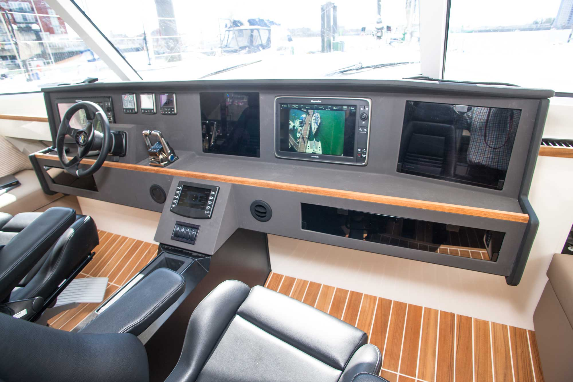 Broadblue Rapier 550 Blick auf die Navigation