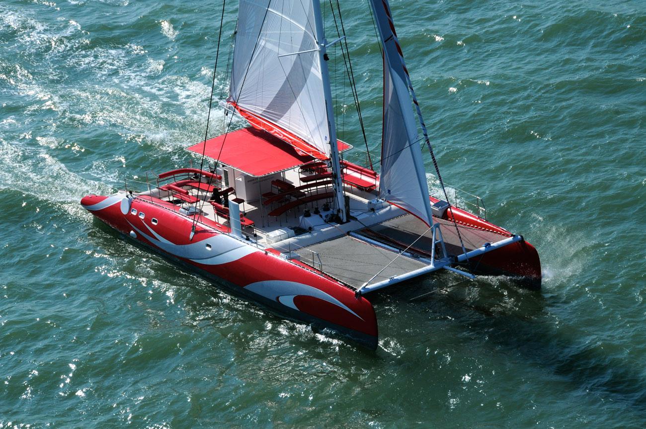 Ocean Voyager Daysailing-Catamaran