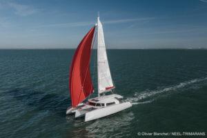 NEEL 43 sailing gennaker